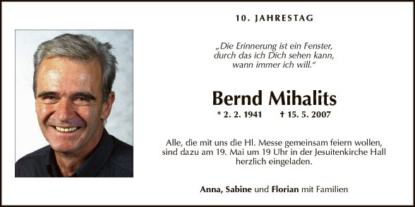 Bernd Mihalits