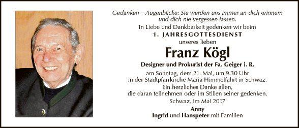 Franz Kögl