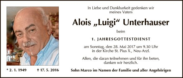 Alois Unterhauser