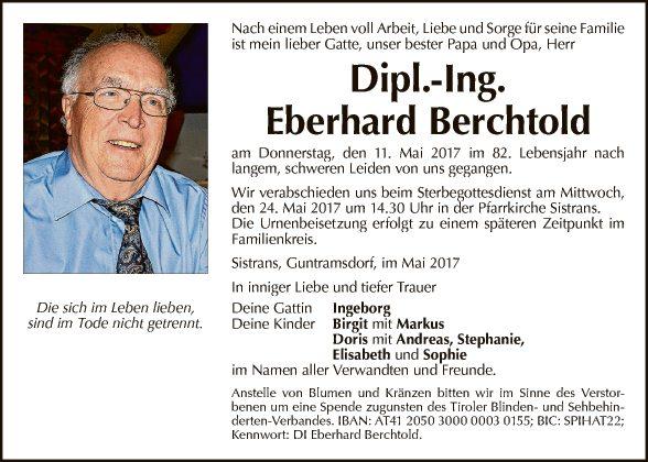 DI Eberhard Berchtold