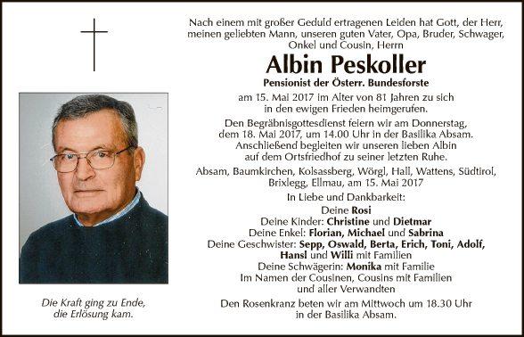 Albin Peskoller