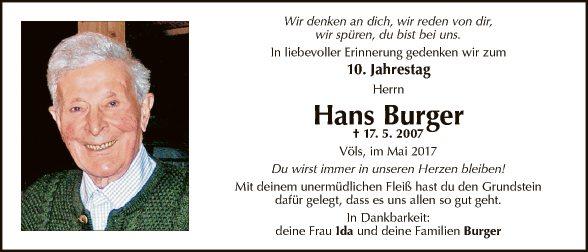 Hans Burger