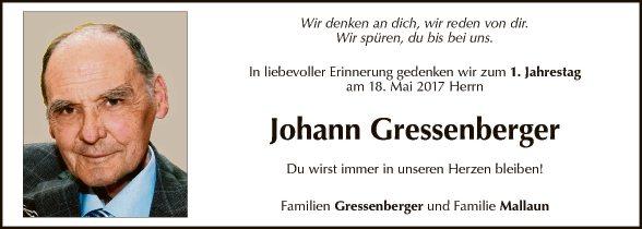 Johann Gressenberger