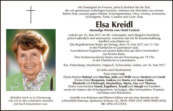Elsa Kreidl