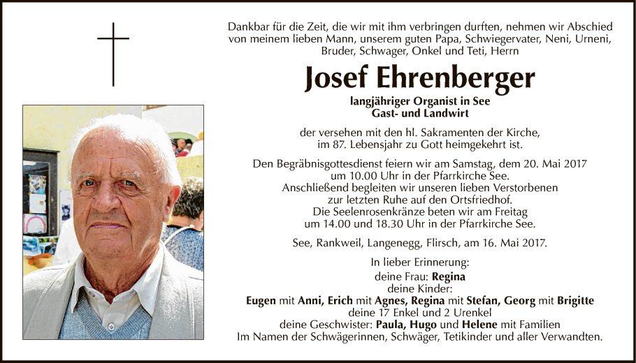 Josef Ehrenberger