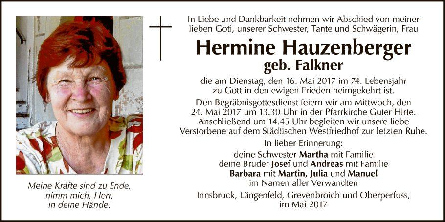 Hermine Hauzenberger