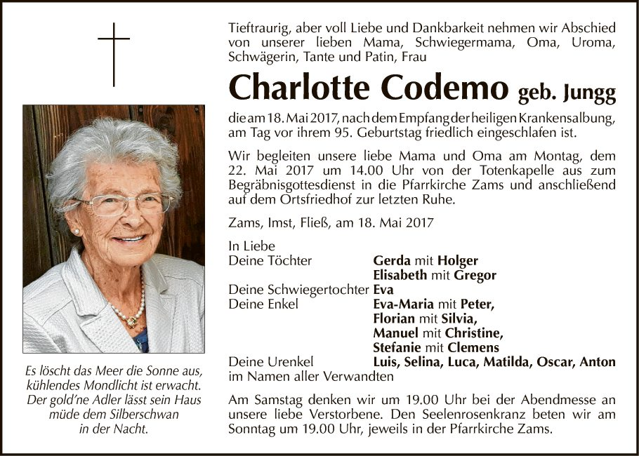 Charlotte Codemo
