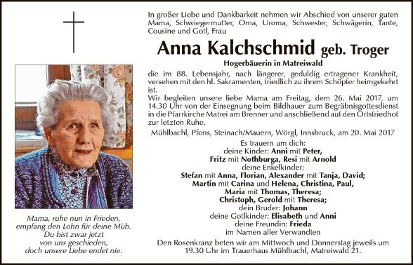 Anna Kalchschmid