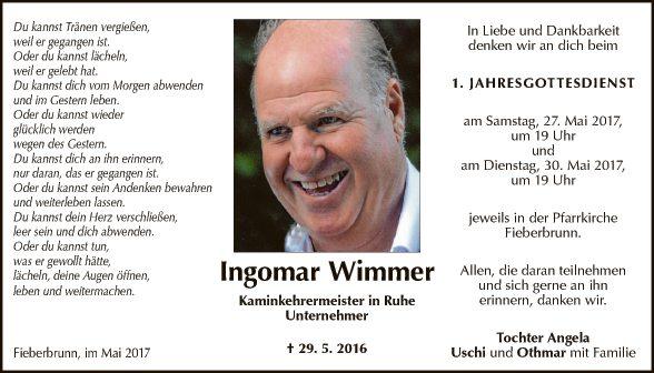 Ingomar Wimmer