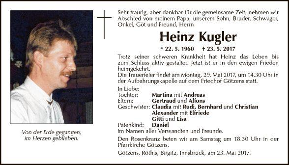 Heinz Kugler