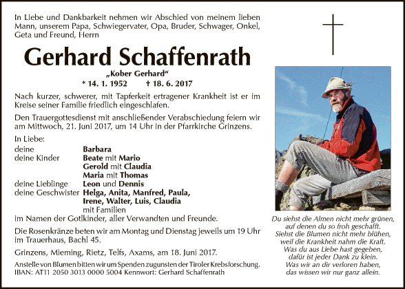 Gerhard Schaffenrath