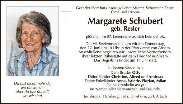 Margarete Schubert