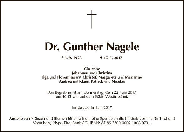 Gunther Nagele