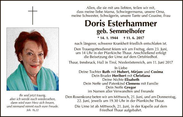 Doris Esterhammer