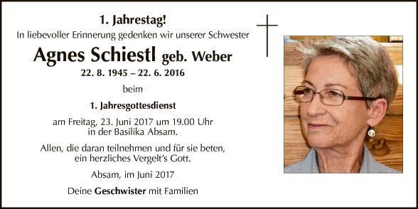 Agnes Schiestl