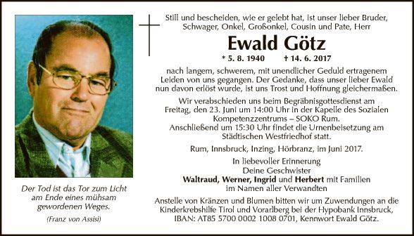 Ewald Götz