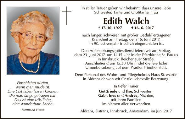 Edith Walch