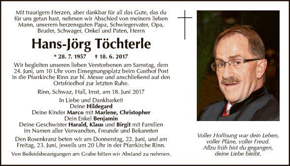 Hans-Jörg Töchterle
