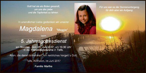 Magdalena Marthe
