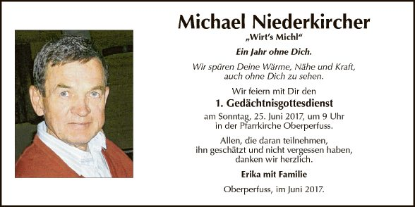 Michael Niederkircher