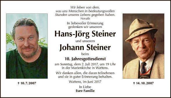 Hans-Jörg und Johann Steiner