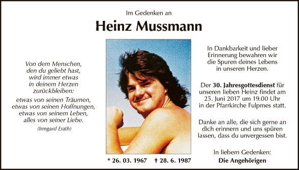 Heinz Mussmann