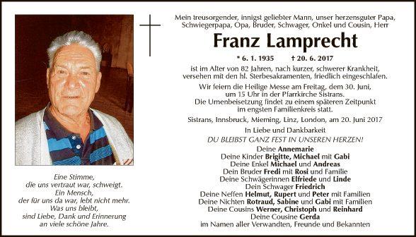 Franz Lamprecht