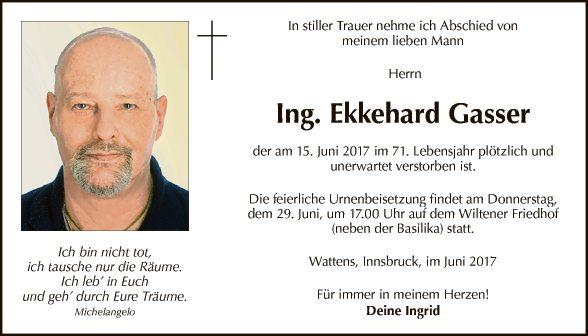 Ekkehard Gasser