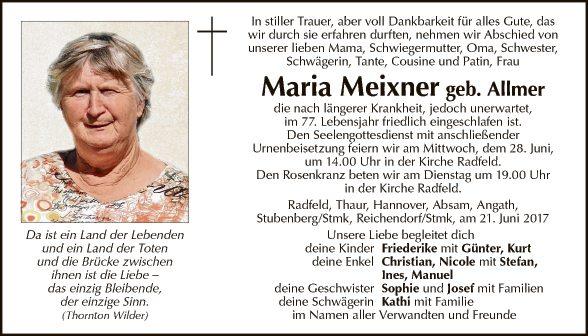 Maria Meixner
