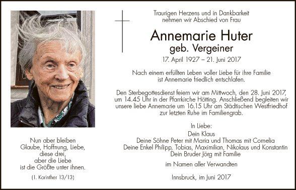 Annemarie Huter
