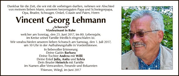 Vincent Georg Lehmann