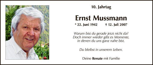 Ernst Mussmann