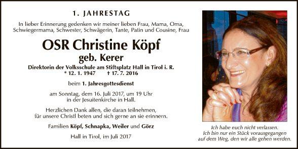 Christine Köpf