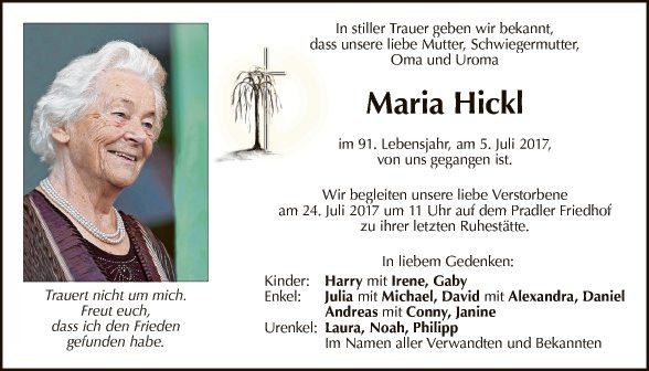 Maria Hickl