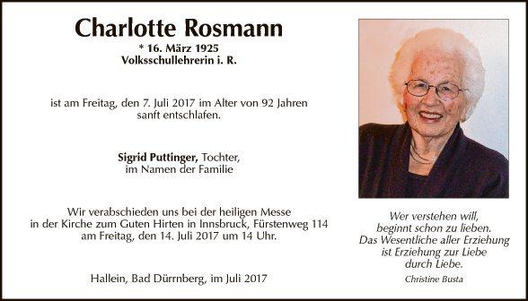 Charlotte Rosmann
