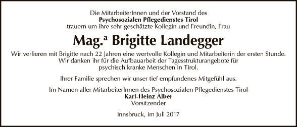 Mag.a Brigitte Landegger