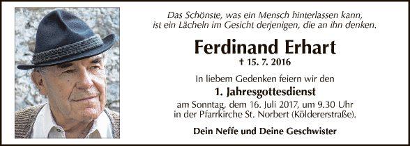 Ferdinand Erhart