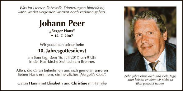 Johann Peer