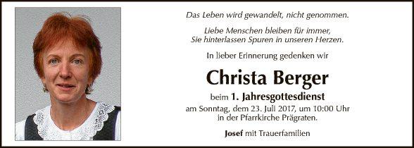 Christa Berger