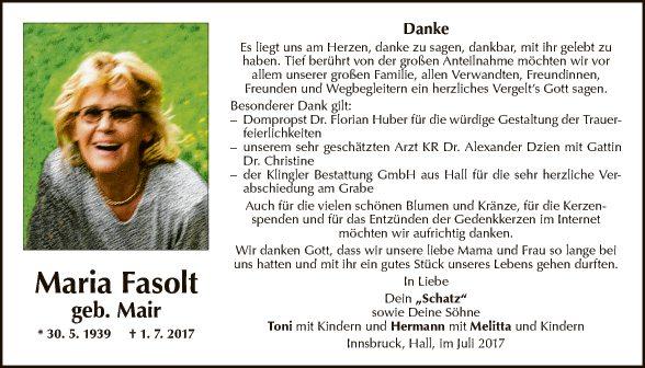 Maria Fasolt