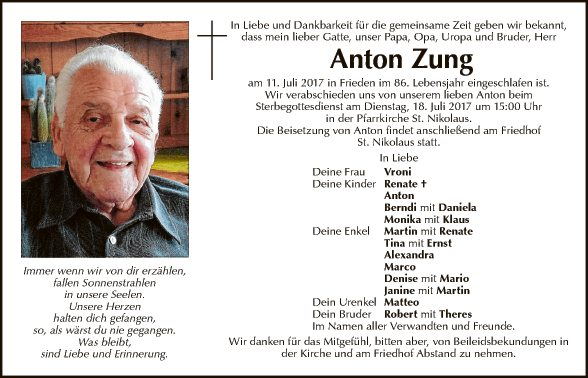 Anton Zung