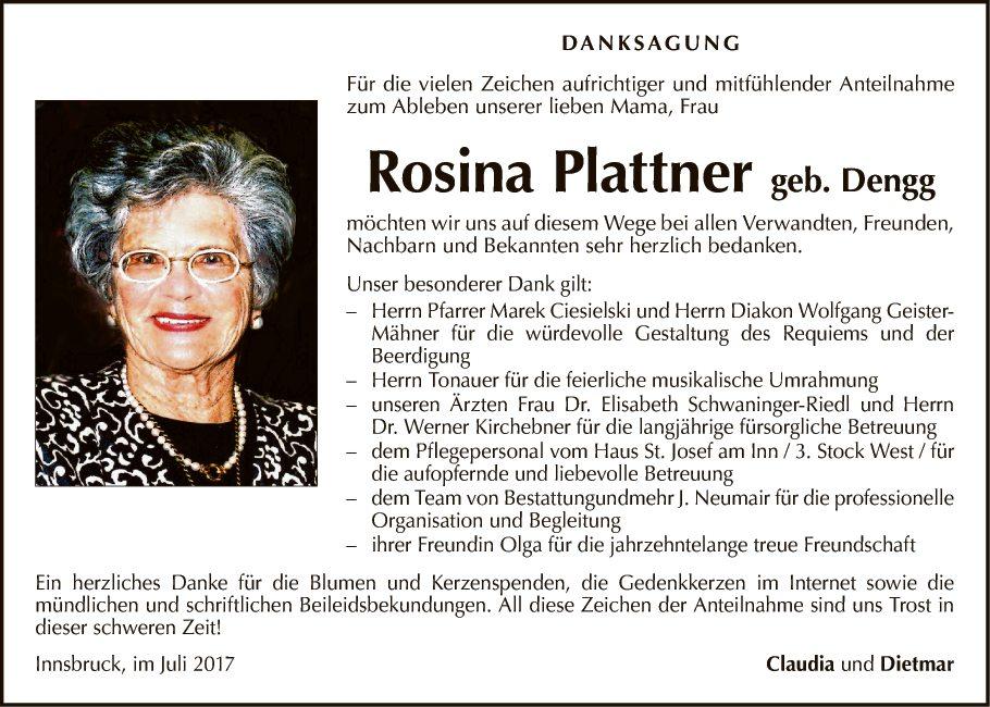 Rosina Plattner