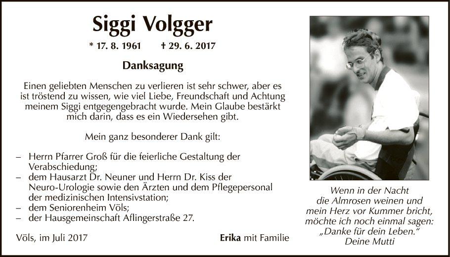 Siegfried Volgger