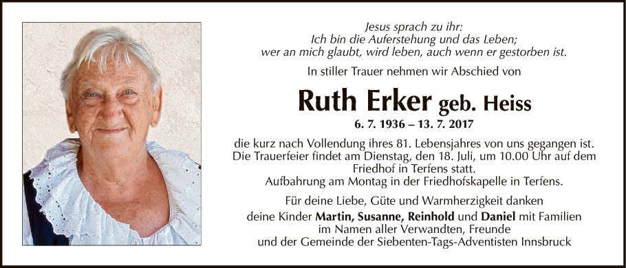 Ruth Erker