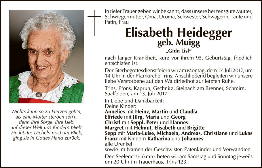 Elisabeth Heidegger