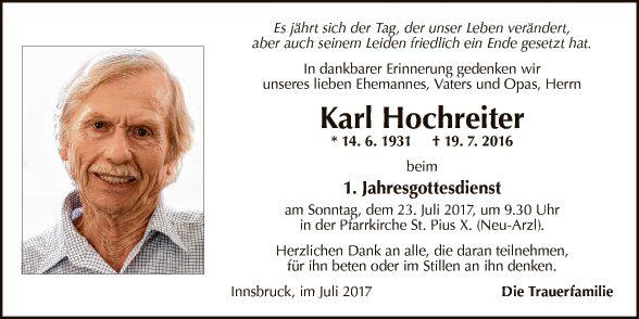 Karl Hochreiter