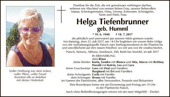 Helga Tiefenbrunner