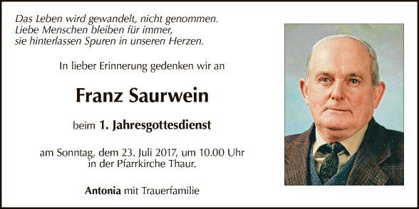 Franz Saurwein