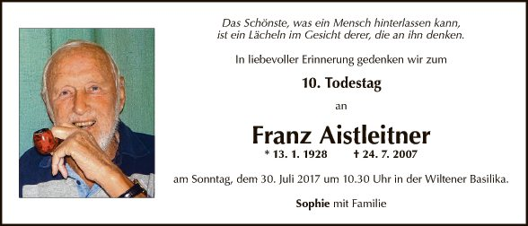 Franz Aistleitner