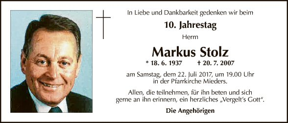 Markus Stolz